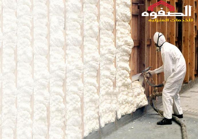 شركة عزل الفوم بالخرج 0551133586 - شركة الصفوة مؤسسة الصفوة بالسعودية